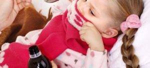 Сухой горловой кашель у ребенка чем лечить