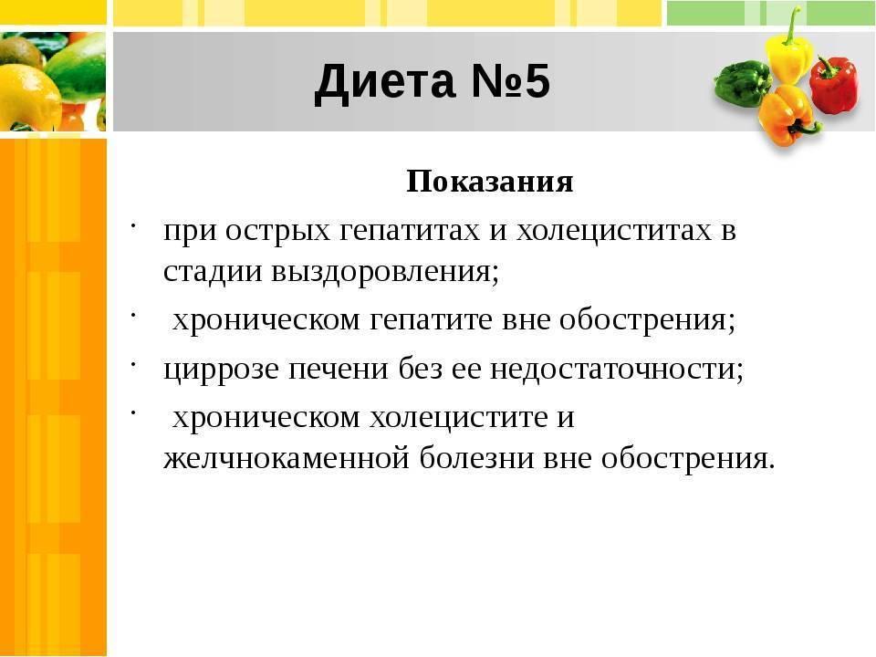 Диета при гепатите а у взрослых: список разрешенных и запрещенных продуктов