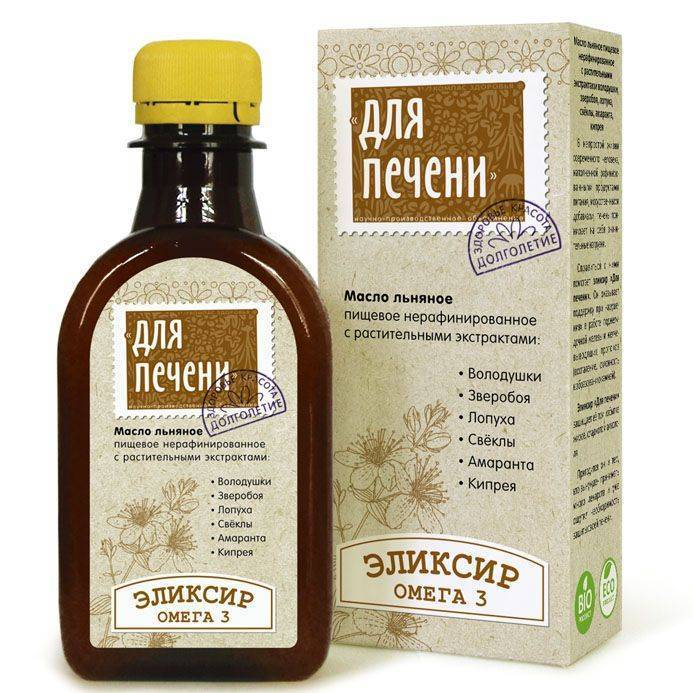 Как принимать льняное масло при холецистите