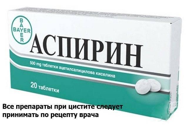 Обезболивающее при цистите у женщин препараты