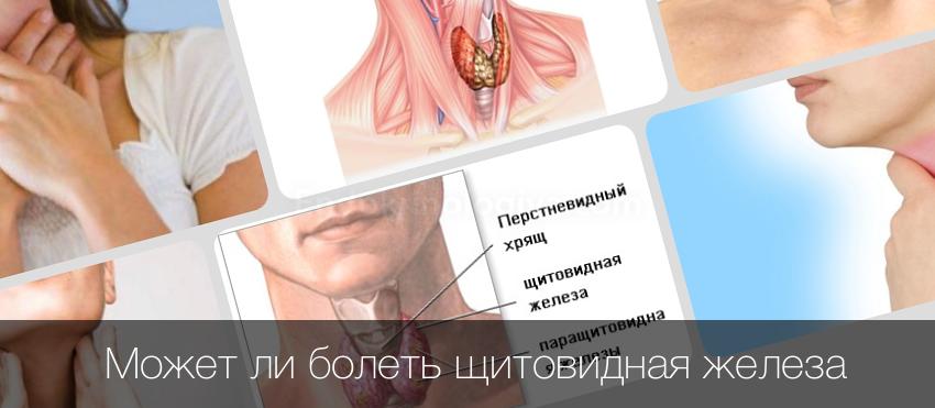 Болит щитовидка: может ли болеть, как и почему
