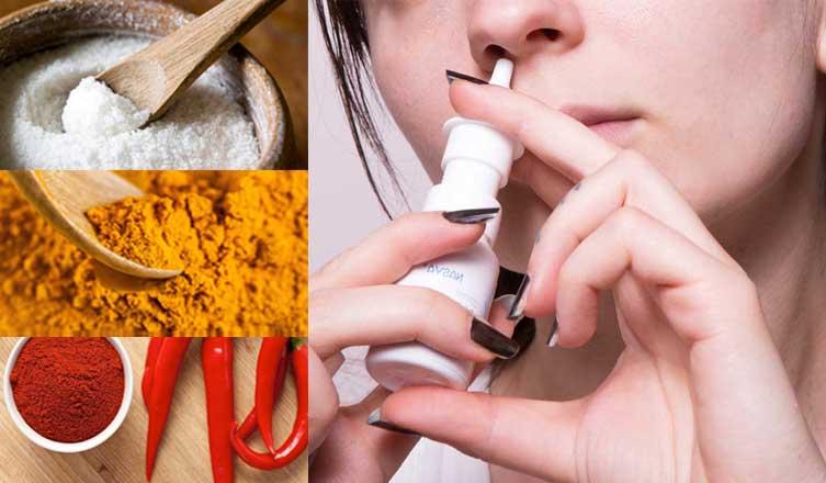 народные средства лечения полипов в носу