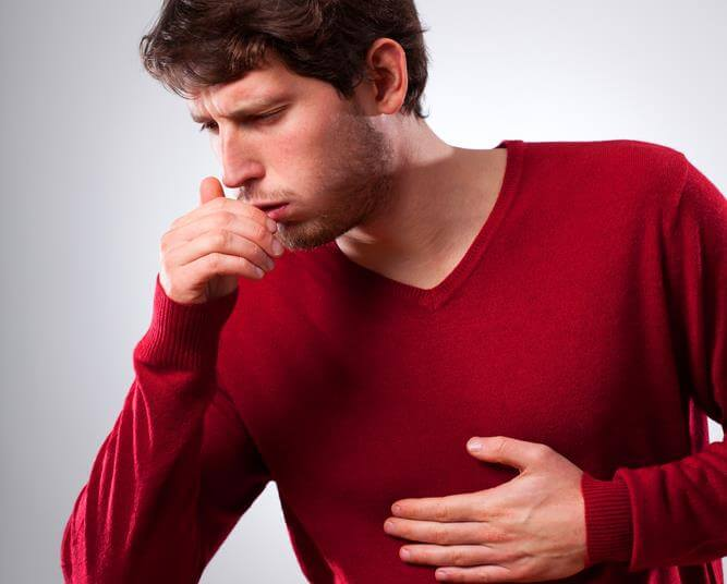 Причины и лечение долго не проходящего сухого кашля без температуры у взрослого