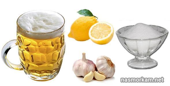 Как пивом лечат ангину