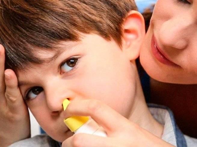 гайморит лечение у ребенка 7 лет