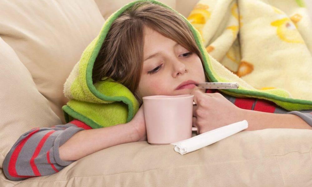 температура боль в горле кашель