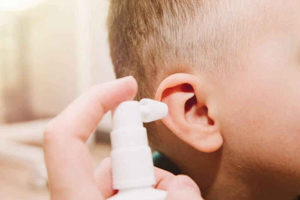 Наружный отит симптомы и лечение у детей
