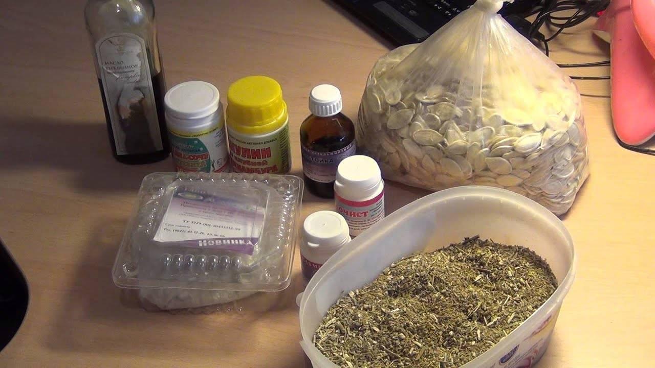 Основные методы очищения организма от паразитов пищевой содой