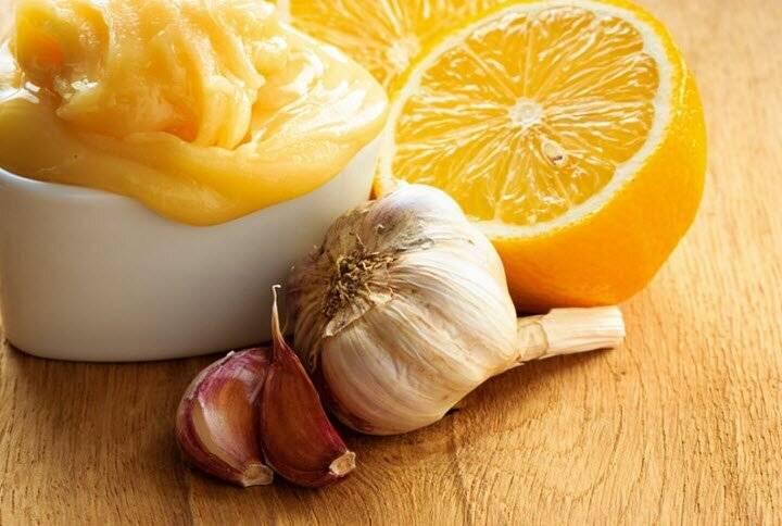 рецепт с чесноком и лимоном от холестерина
