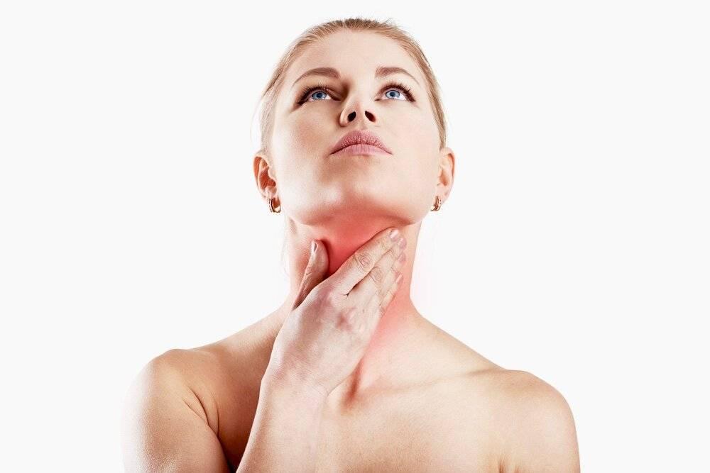 Удушье при щитовидке