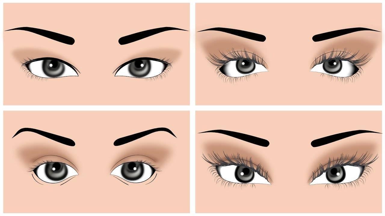 форма глаза