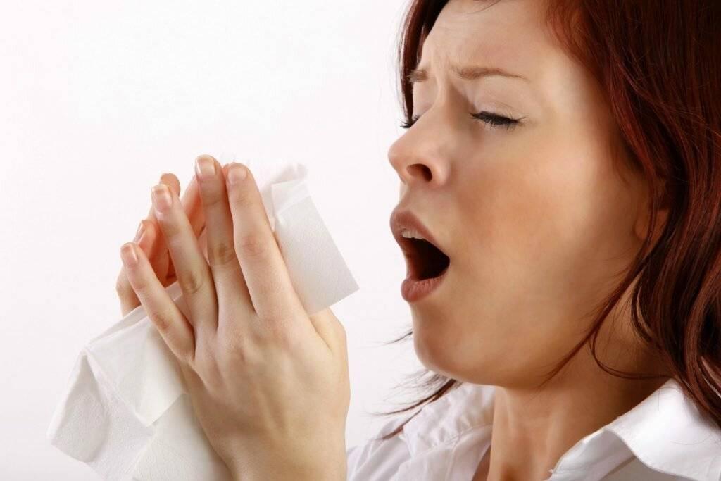 постоянно чихаю и насморк
