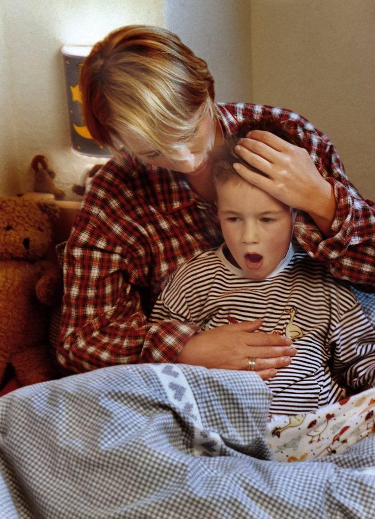 Приступы кашля до рвоты у взрослых: лечение и причины