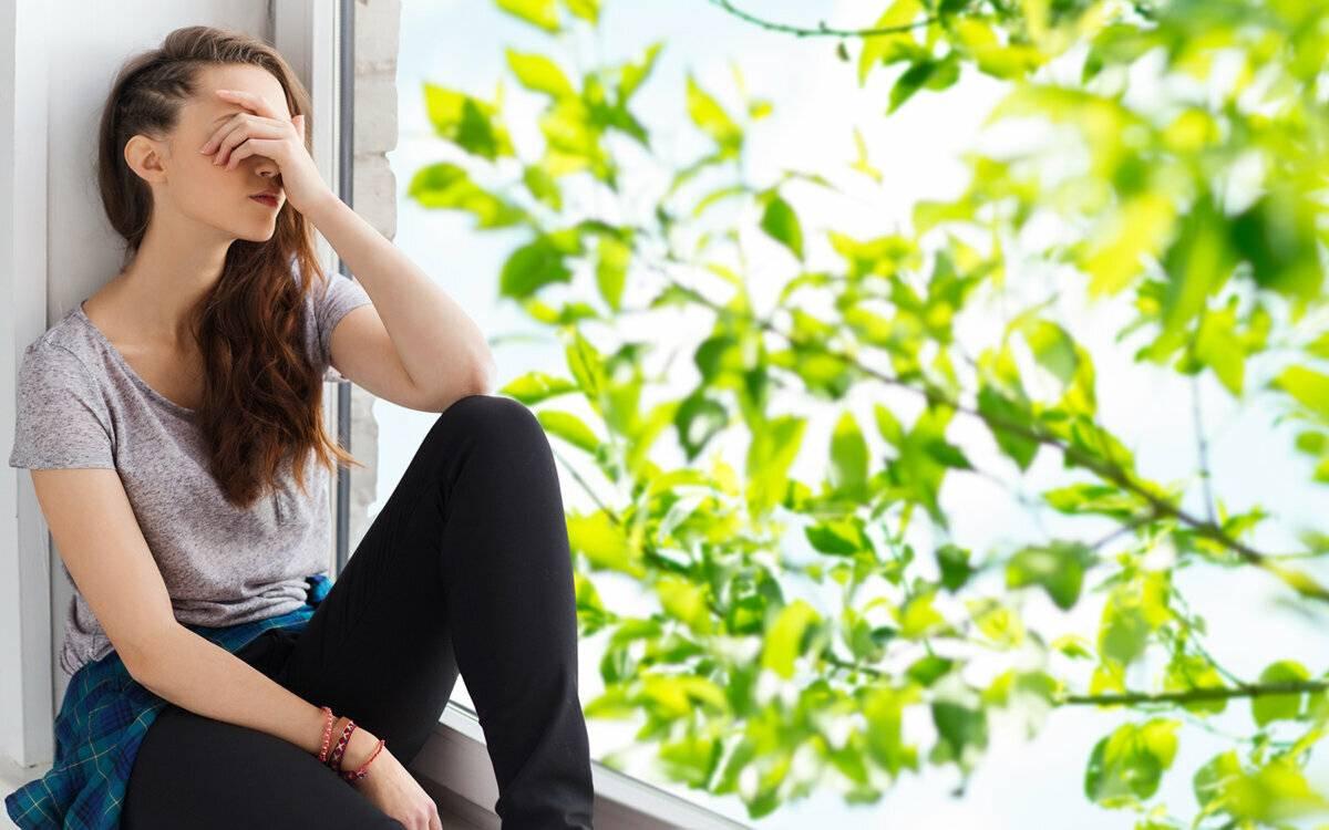 депрессия из за одиночества