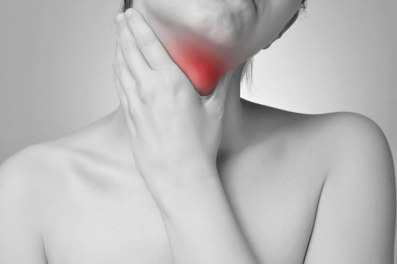 Боли в горле при щитовидке симптомы