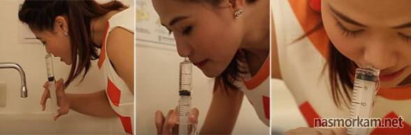 Как правильно промыть нос в домашних условиях