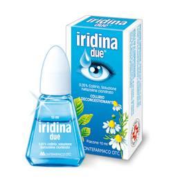Капли для глаз iridina