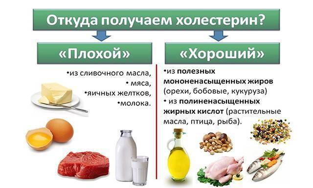 в кефире есть холестерин