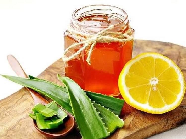 алой и мед от кашля