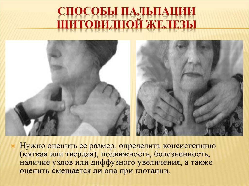 Как определить заболевания щитовидной железы