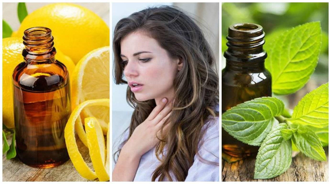 Какие эфирные масла полезны при кашле