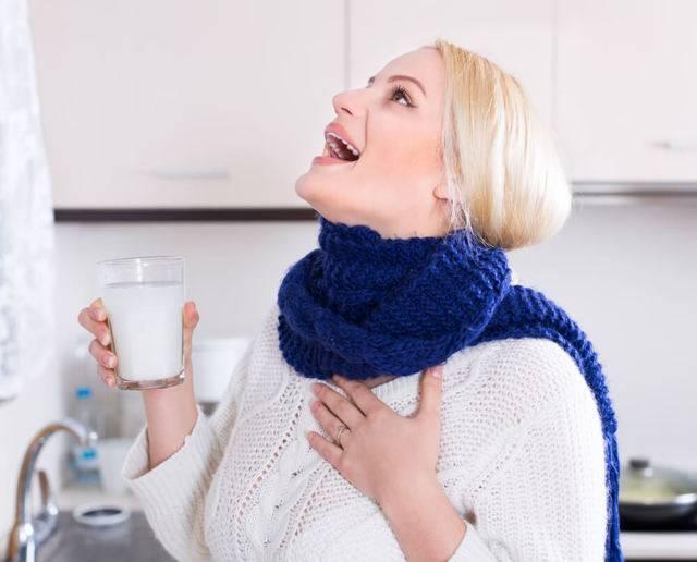 Постоянно болит горло! как лечить во время беременности?