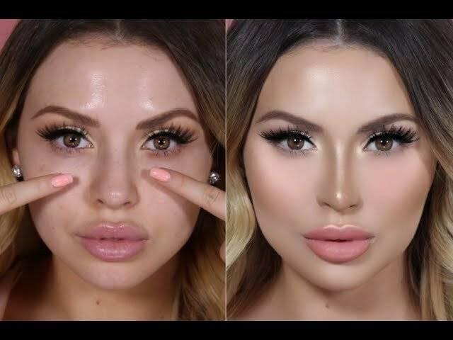 как сделать чтобы нос был меньше