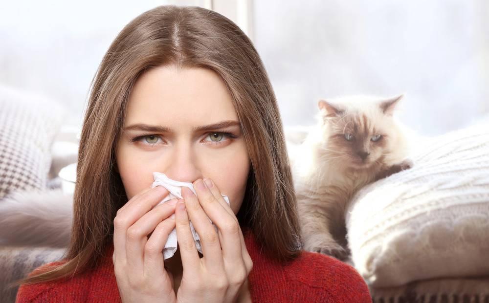 Насморк чихание слезятся глаза температура
