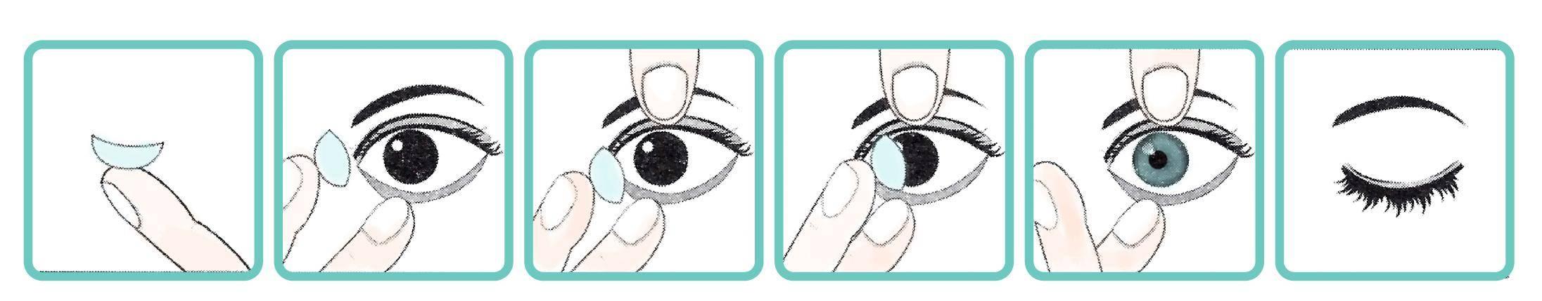 Как надевать линзы первый раз? как снимать и надевать линзы