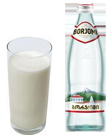 Как разбавлять молоко с минералкой от кашля