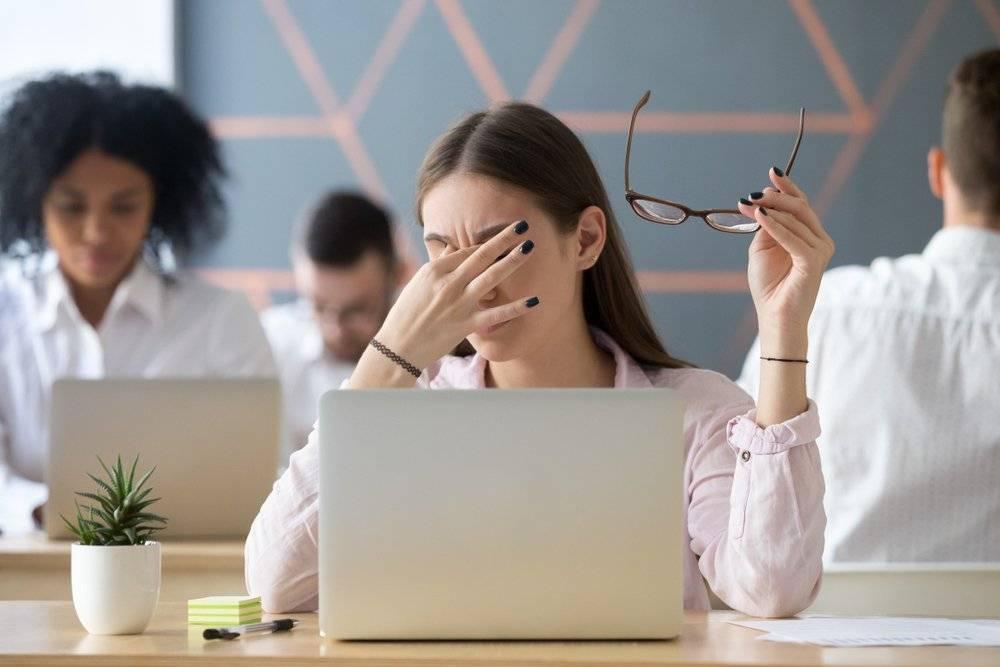 как сидеть за компьютером и не портить зрение