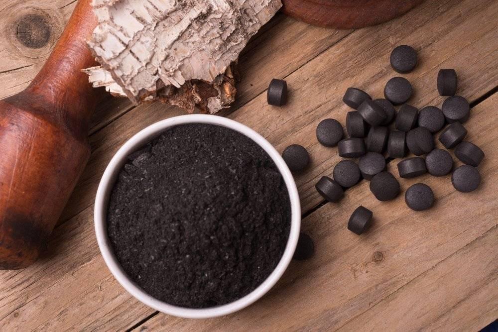 Активированный уголь для чистки печени