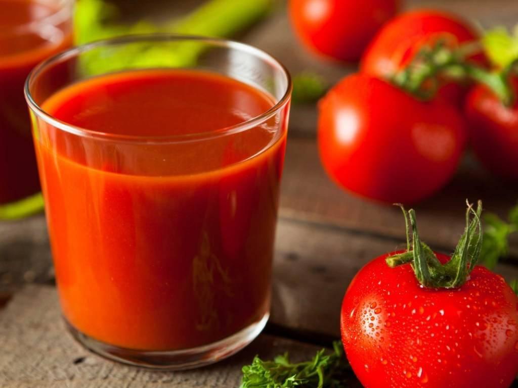томатный сок для печени