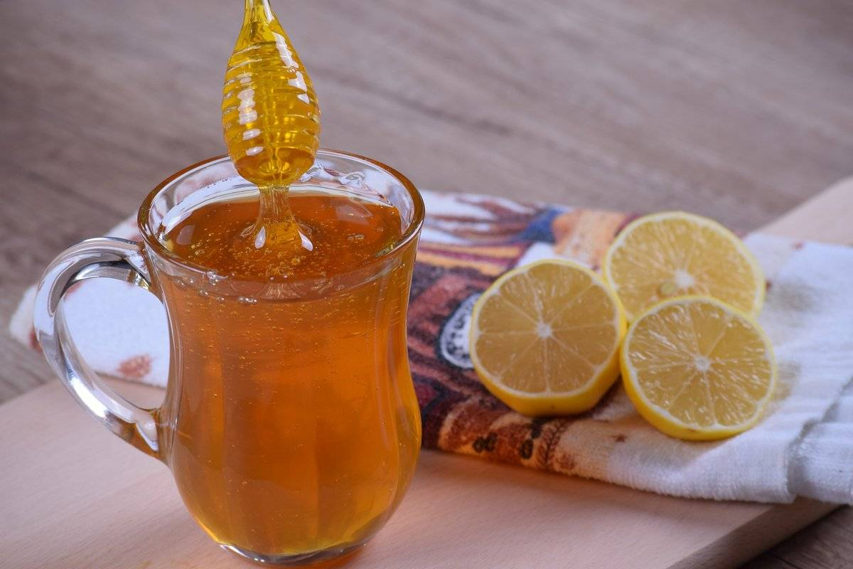 лимон с медом от кашля