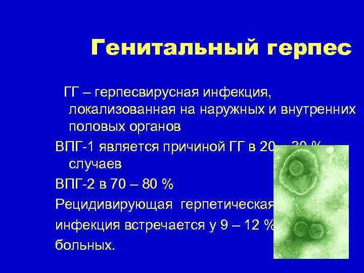герпес на генеталиях лечение у женщин