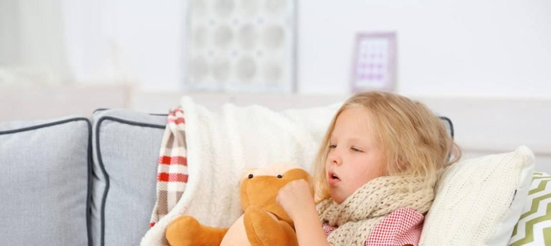 Причины возникновения кашля и температуры у ребенка