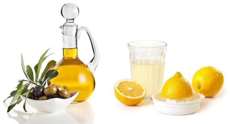 очищение печени лимоном и оливковым маслом