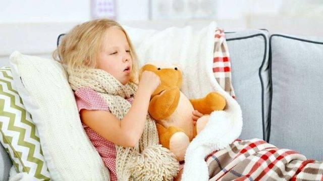 затяжной сухой кашель у ребенка