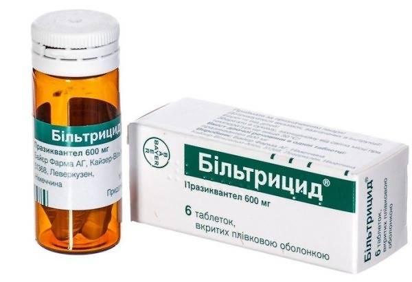 После лечения описторхоза бильтрицидом