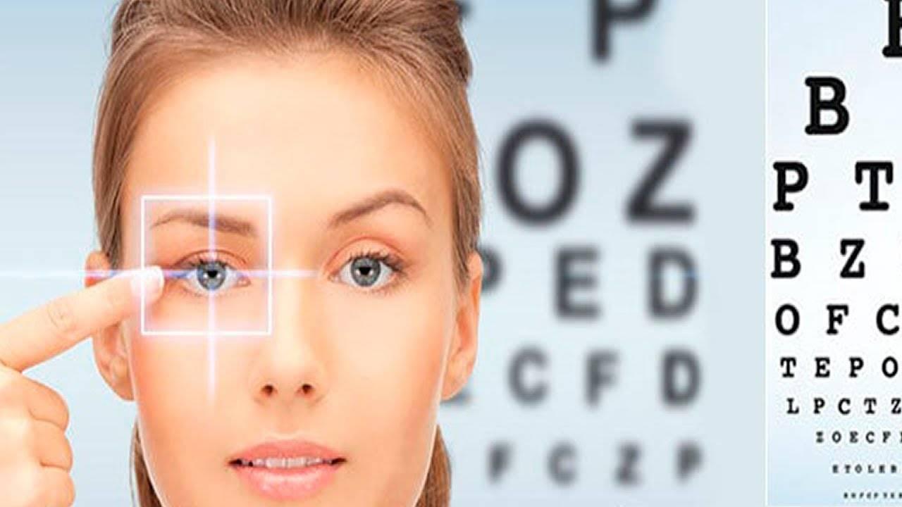 массаж для улучшения зрения