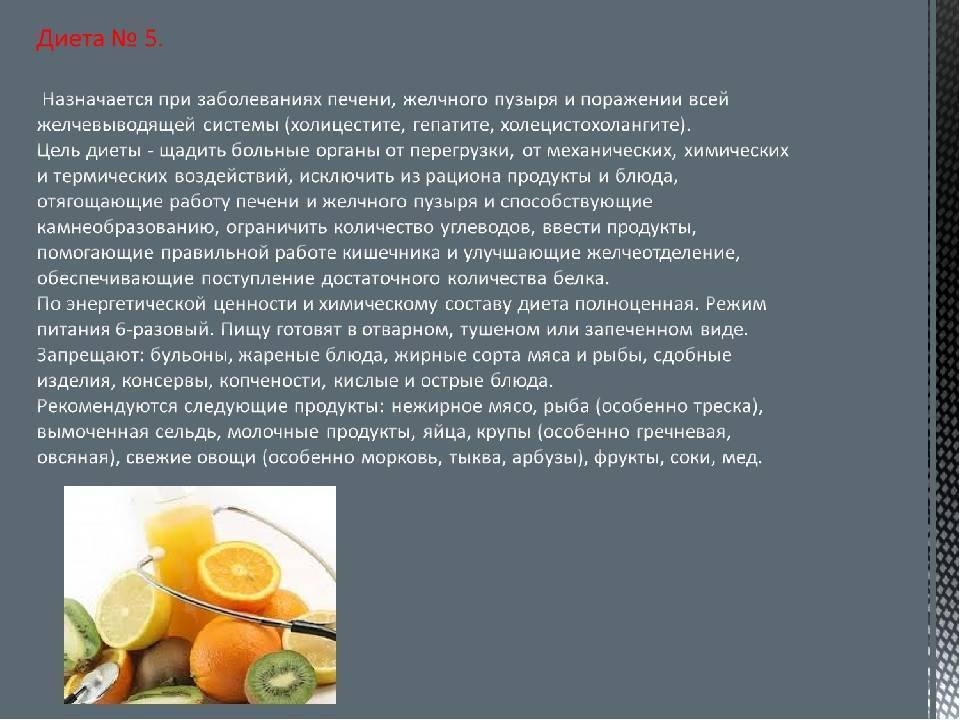 Холестериновые полипы в желчном пузыре диета