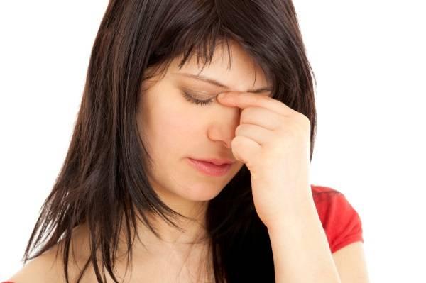 Болит лоб и переносица и глаза