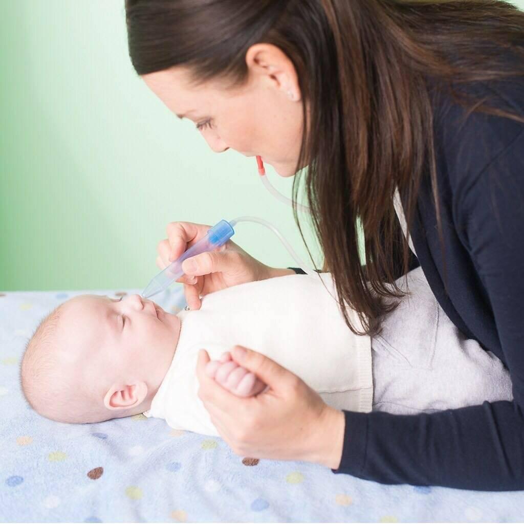 белые сопли у новорожденного