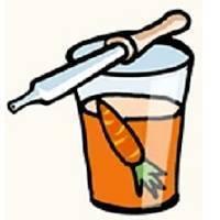 Лечение насморка морковным соком