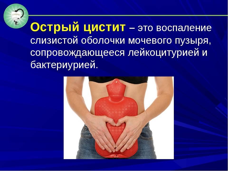 Цистит – симптомы, лечение, народные средства и методы