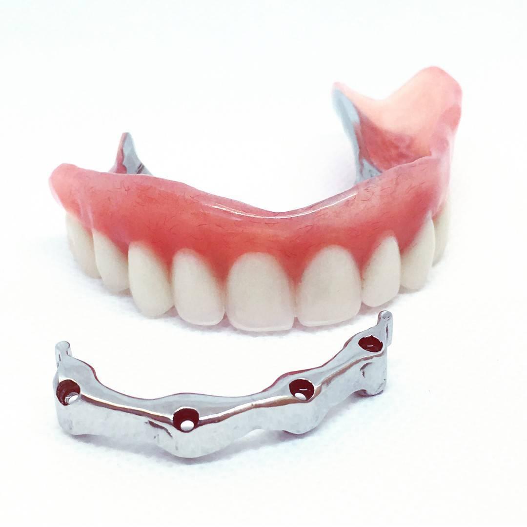 материалы для съемных зубных протезов