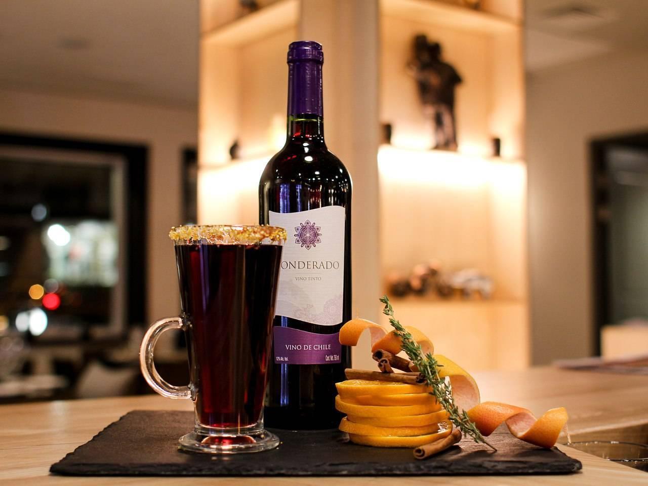 теплое красное вино от кашля