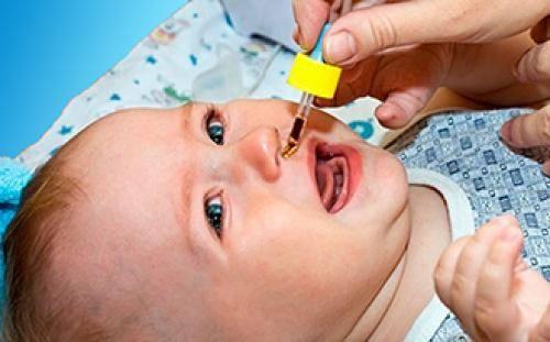 чем лечить насморк у ребенка 1 месяц