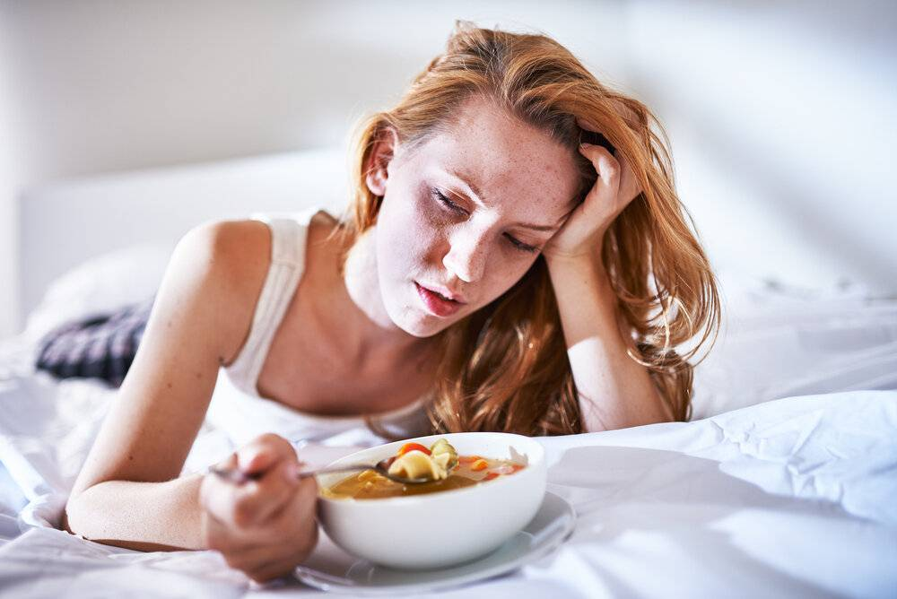 кашель во время еды у взрослых