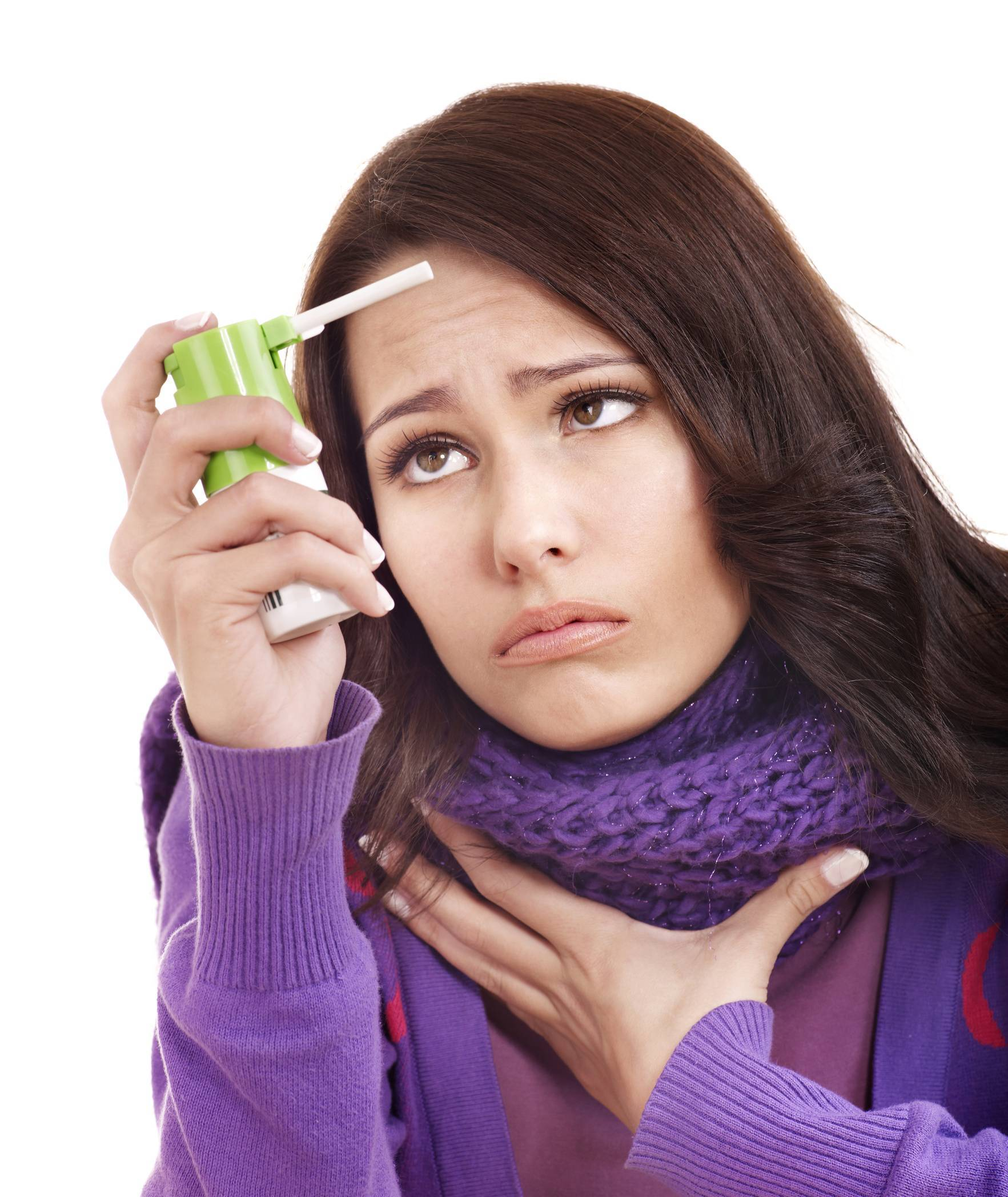 острая боль в горле при беременности
